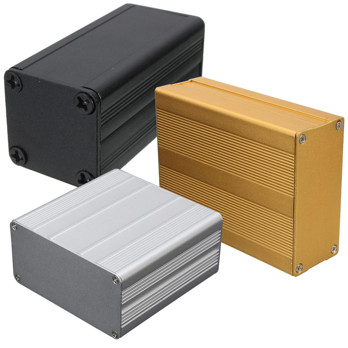 aluminum project box Extruded aluminum electronic project box enclosure case: amazoncouk:  camera & photo.