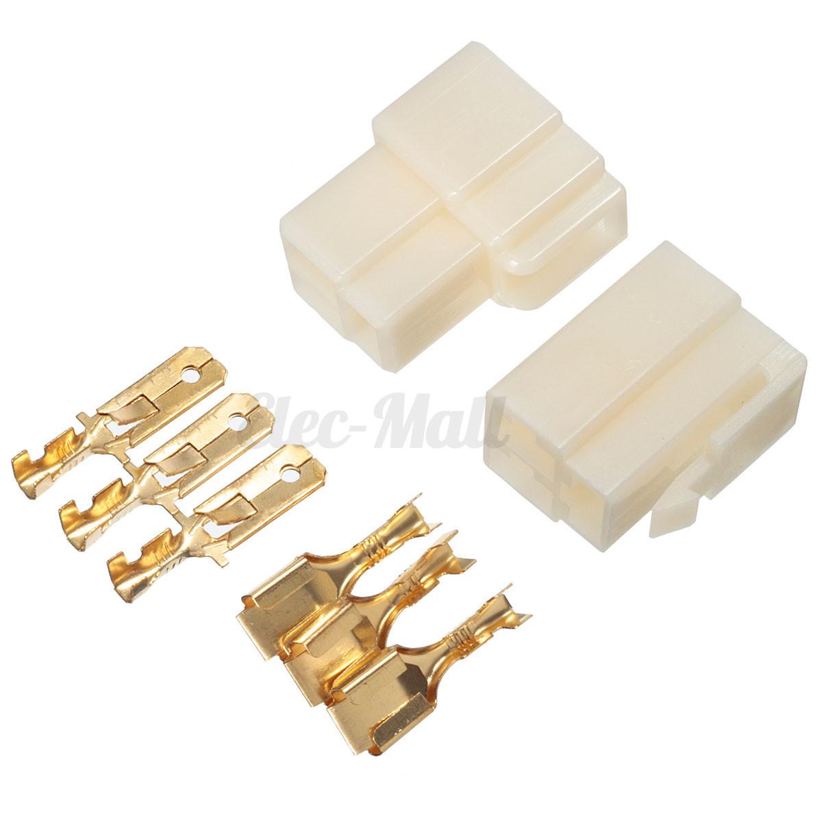 1 2 Pcs 1 8 Way Pin 6 3mm Car Electrical Block Multi