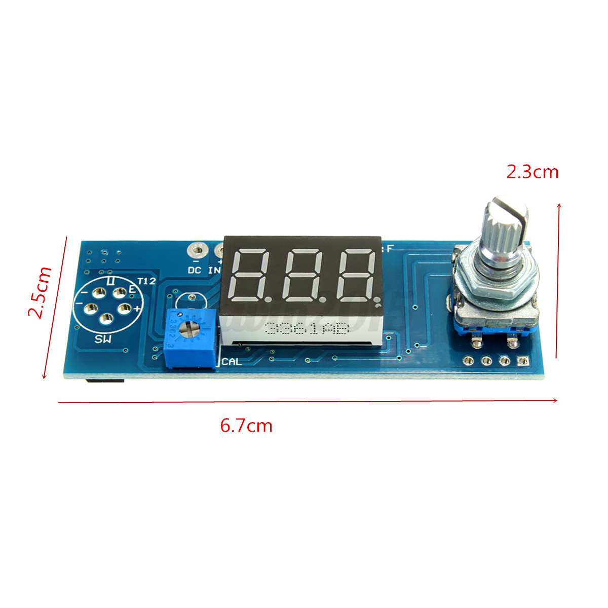 Soldering Station Display Temperature Control Board Air Outlet Knob #0C476D