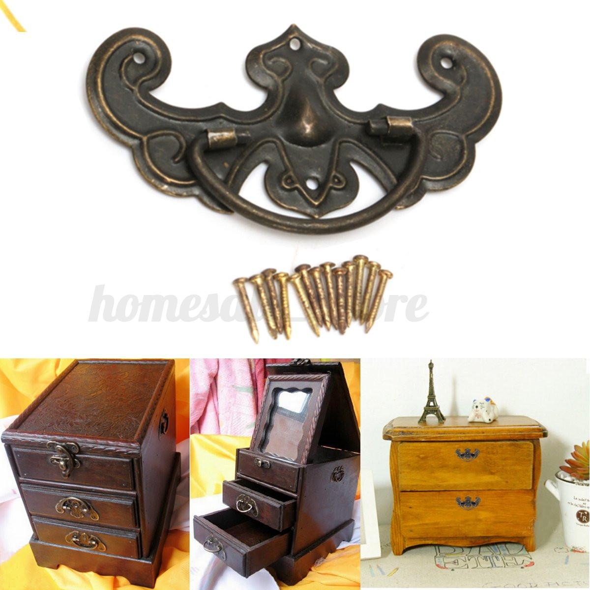 Vintage kitchen furniture cupboard cabinet closet door knobs drawer pull handles ebay - Retro kitchen cupboard doors ...