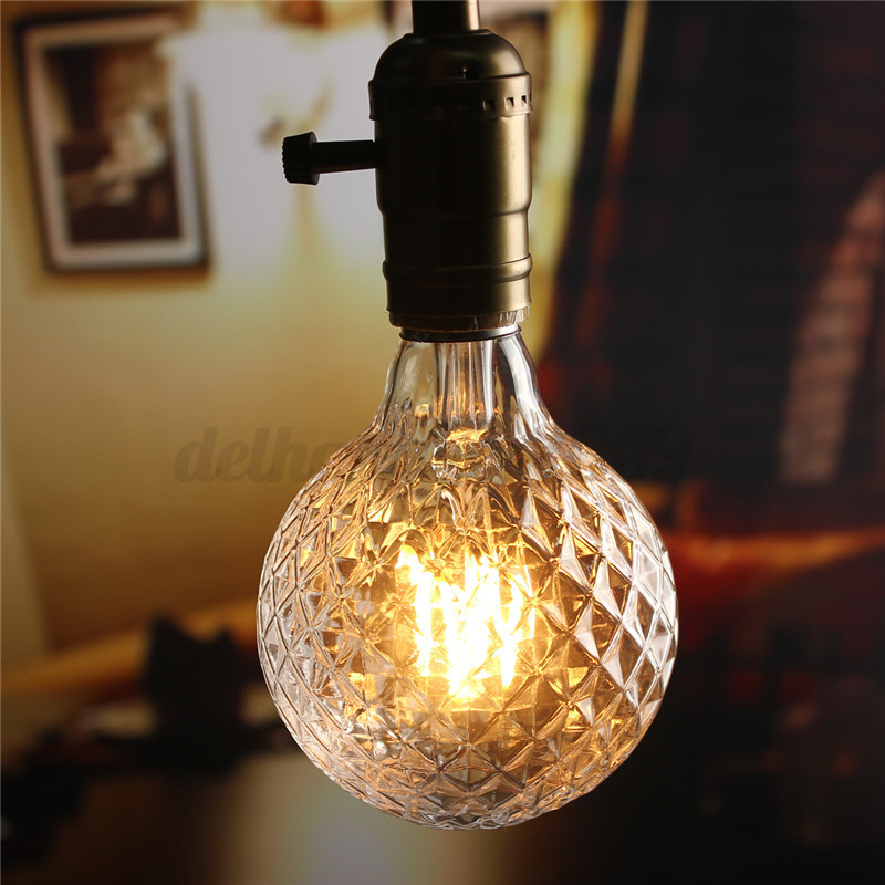 e27 4 5 40w r tro vintage ampoule cob led filament edison lampe bulb chaud pure ebay. Black Bedroom Furniture Sets. Home Design Ideas