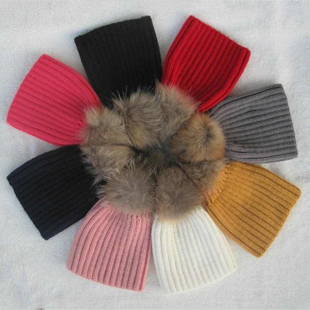 Baby Fur Pom Pom Hat Ebay  8fb512f8745