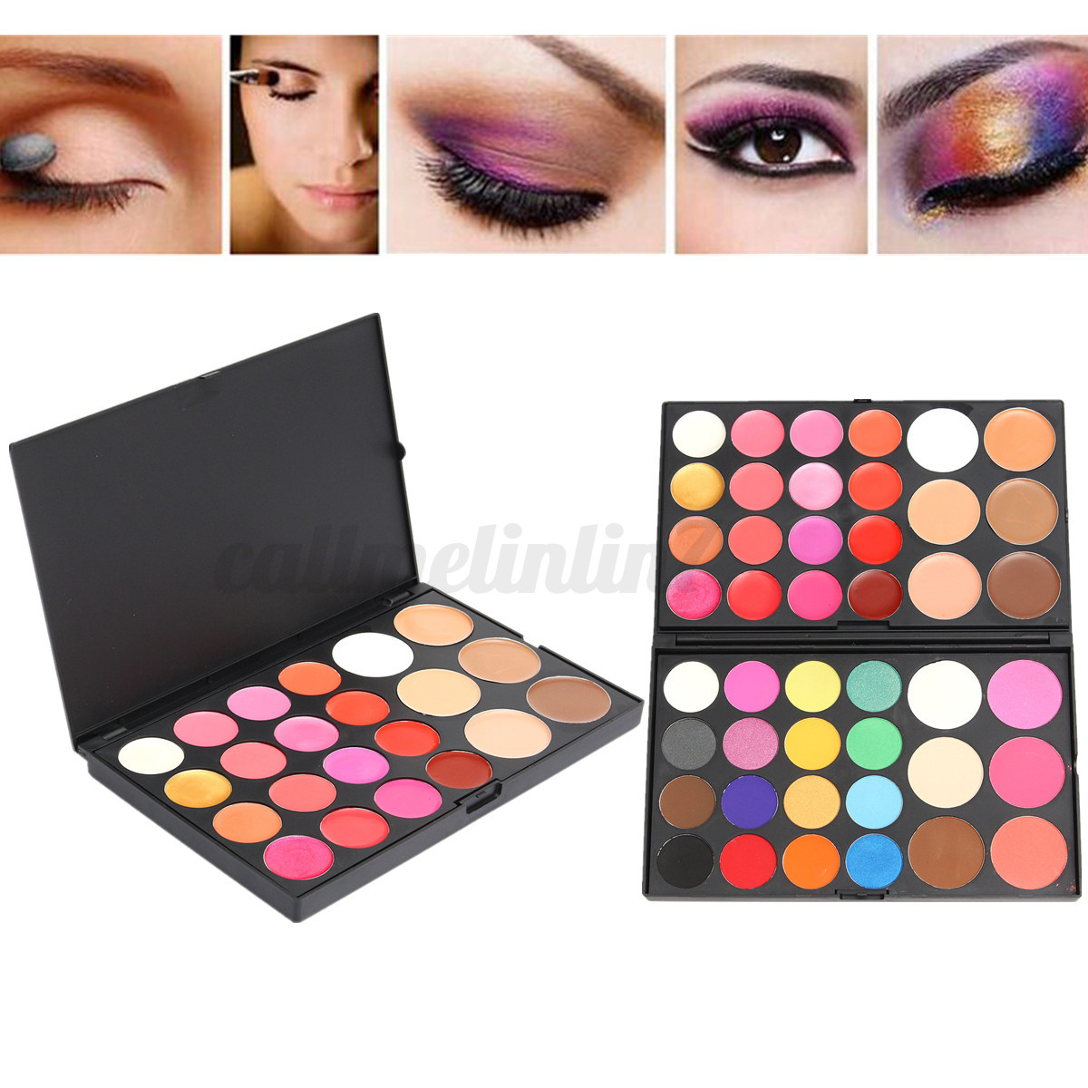 chaud palette fard ombre paupi res mat glitter yeux smoky eyeshadow maquillage ebay. Black Bedroom Furniture Sets. Home Design Ideas