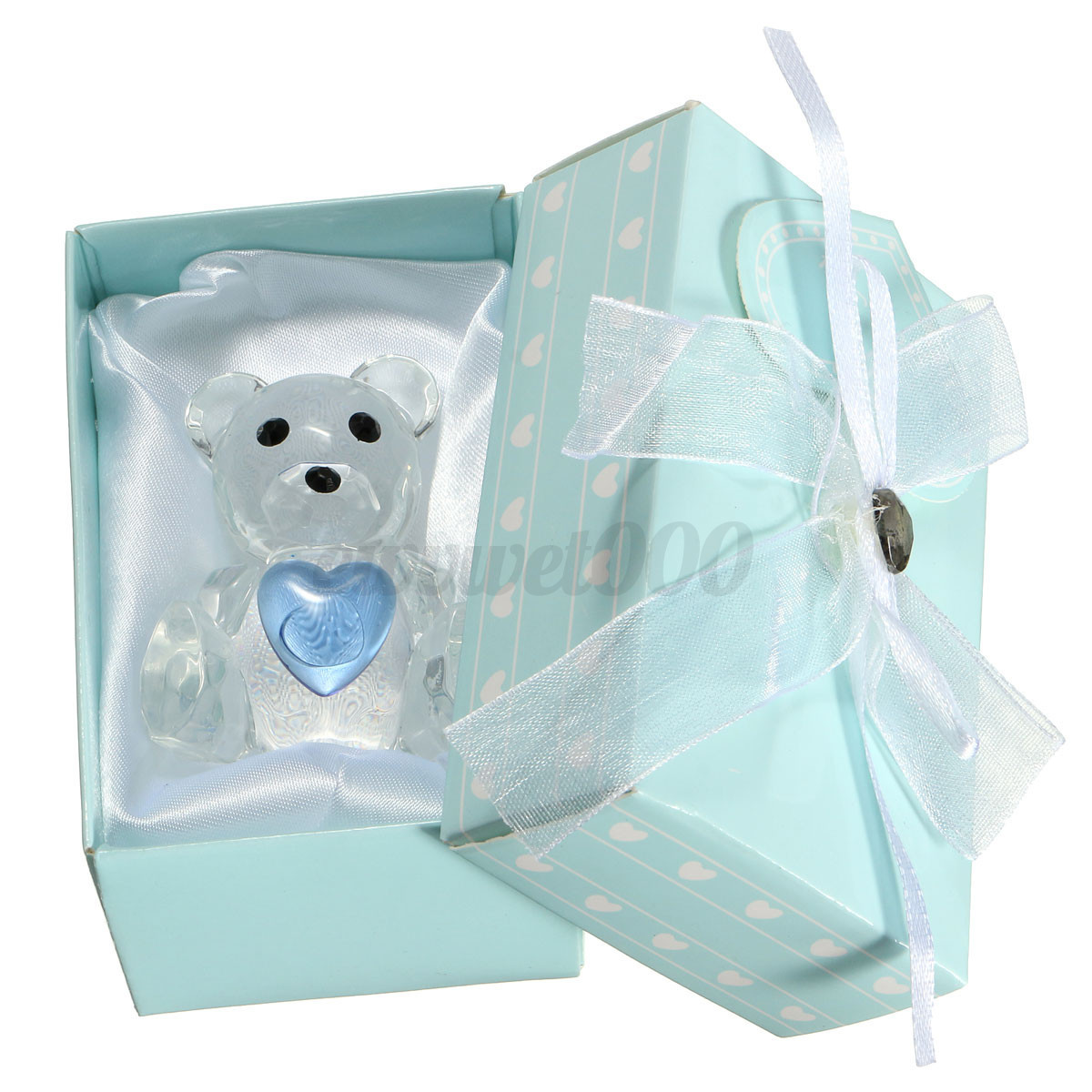 Crystal Baby Shoe Favors