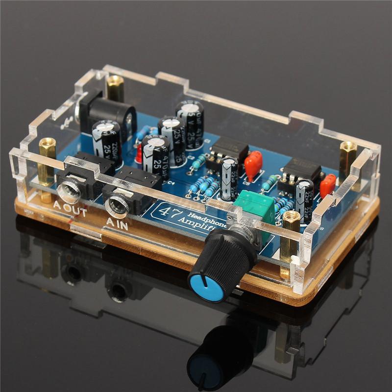 Single Power Supply HIFI Portable Headphone Amplifier PCB ...