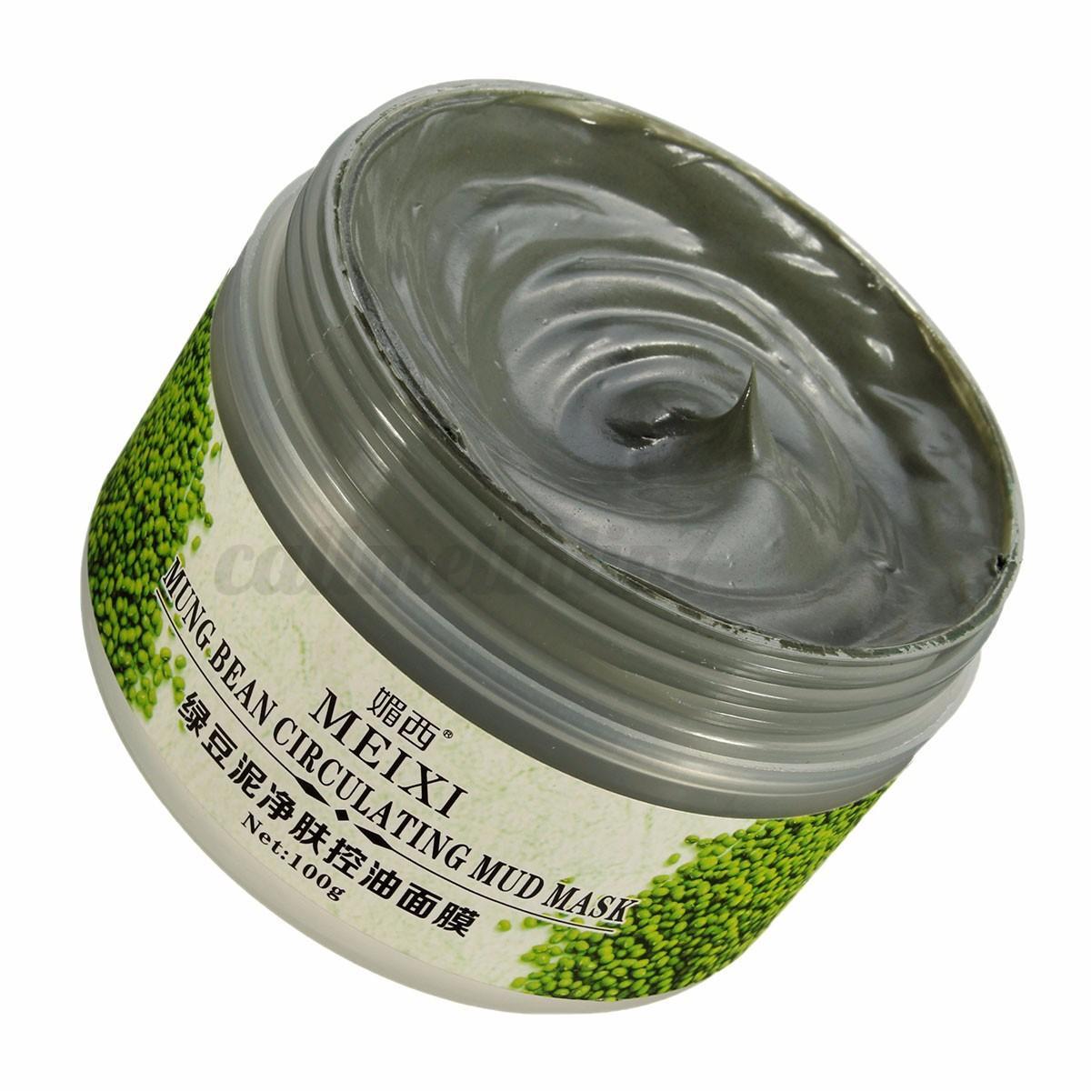 masque boue amb rique blanchissant peau anti acn point noir pore soin nettoyage ebay. Black Bedroom Furniture Sets. Home Design Ideas