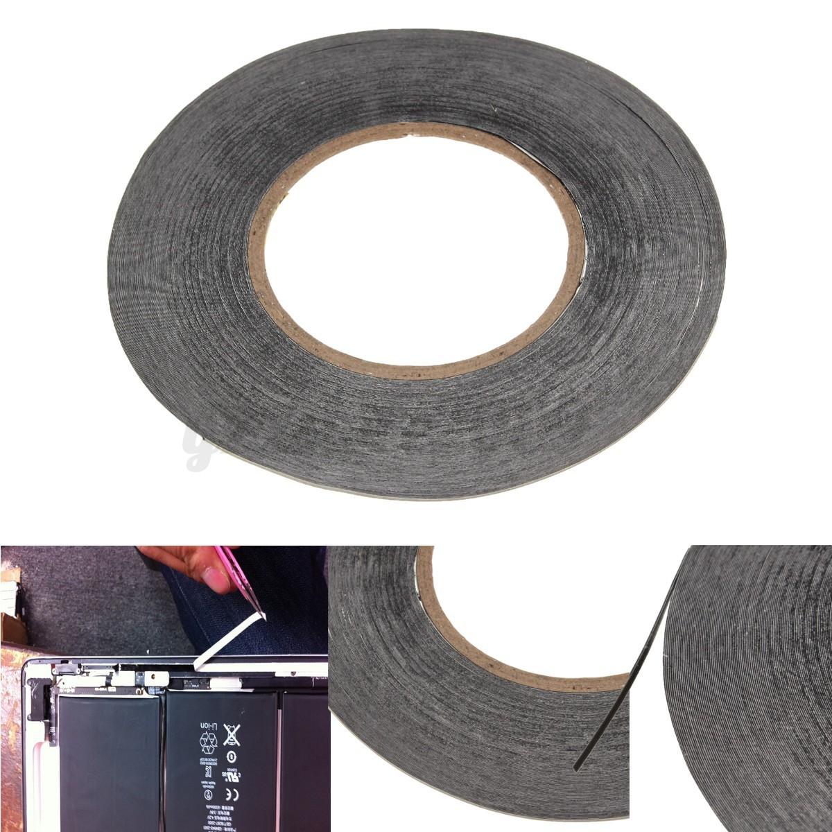 doppelseitiges klebeband 3m kleber streifen tape handy pad reparatur 1mmx50m ebay. Black Bedroom Furniture Sets. Home Design Ideas
