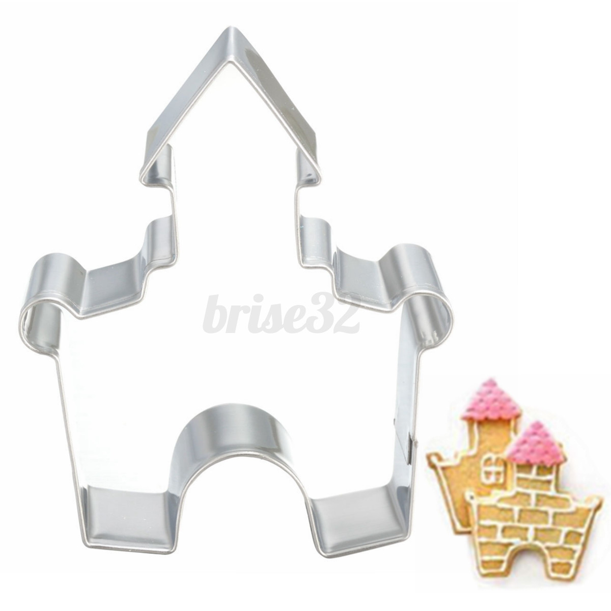Stainless Steel Cake Biscuit Wedding Party Cookie Cutter Fondant Decorating Mold