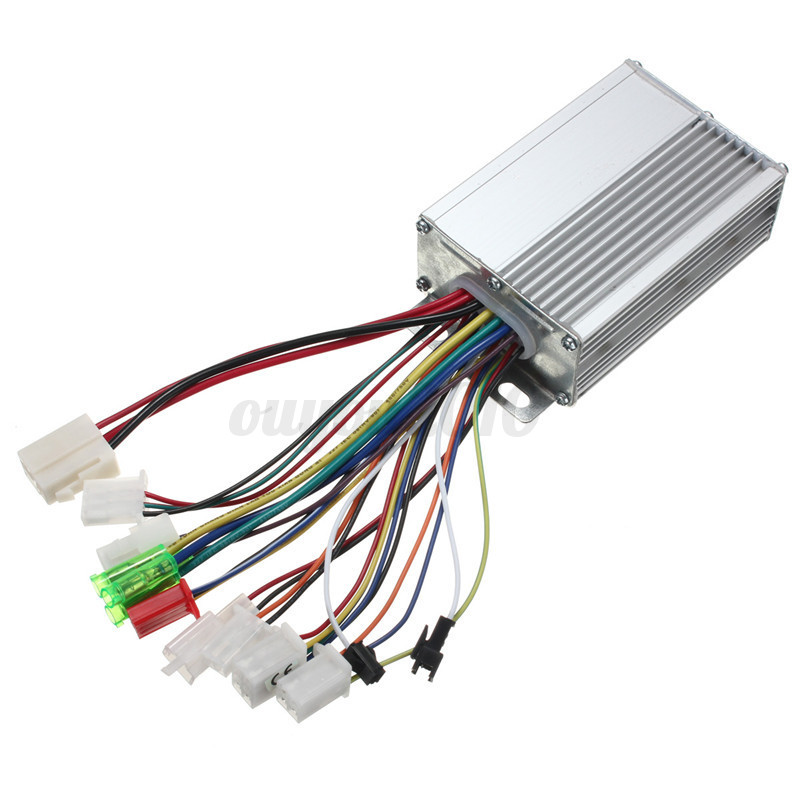 Brushless controller for e bike scooter with without hall for 36v dc motor controller