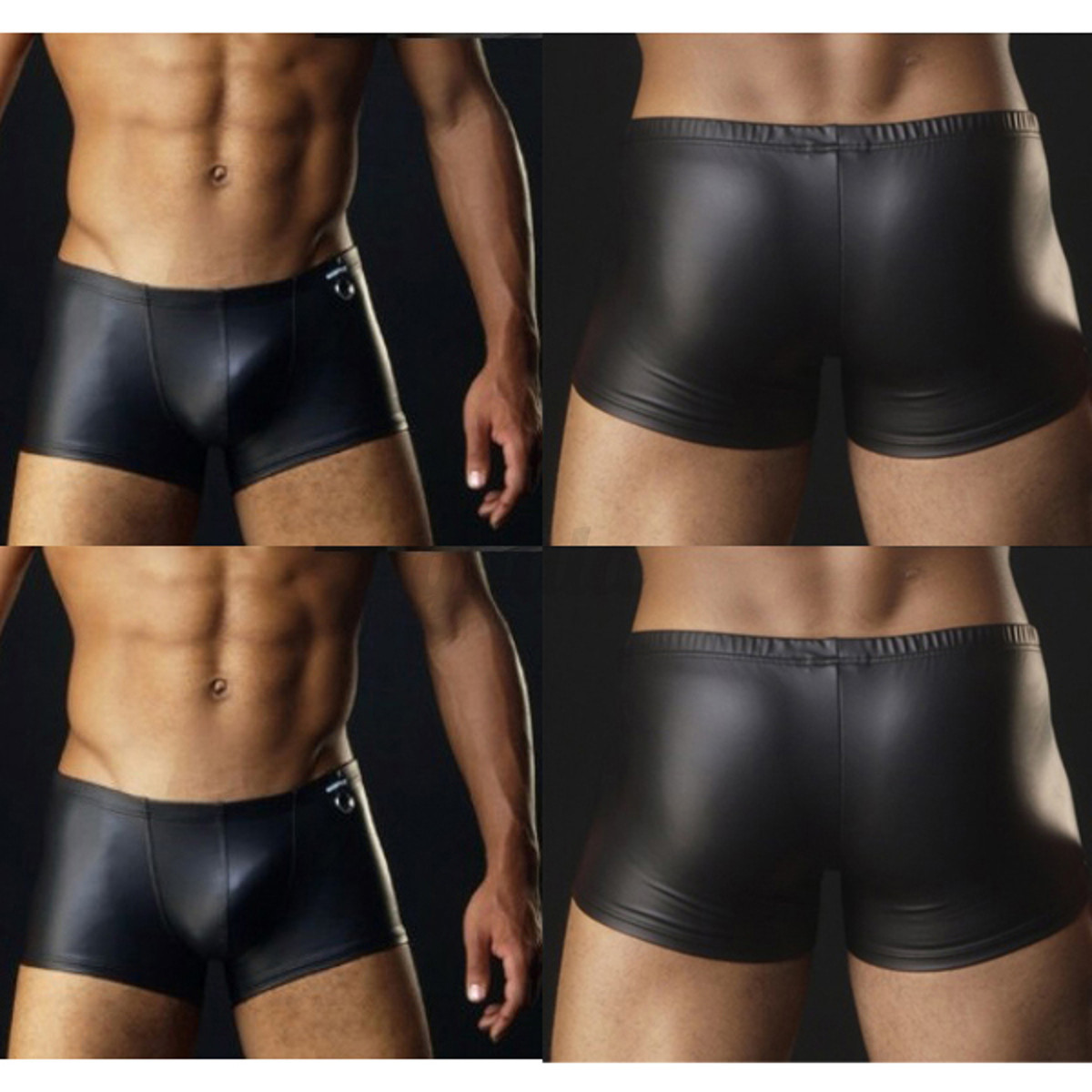 Mens Leather Thongs 115