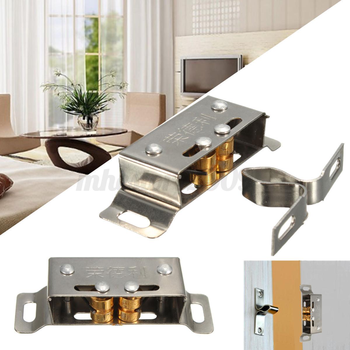 Kitchen Cabinet Door Lock: Steel Catch Suck Touch Beads Spring Cupboard Cabinet