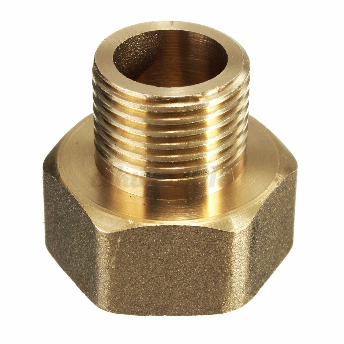 Air water pipe hex bushing reducing adapter pt male to