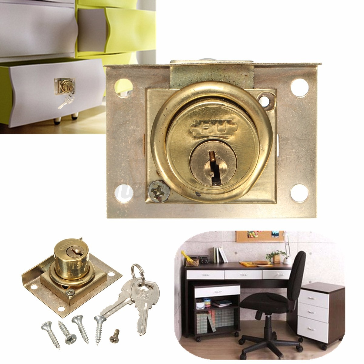Cam lock for door file cabinet mailbox drawer cupboard for Cam lock kitchen cabinets