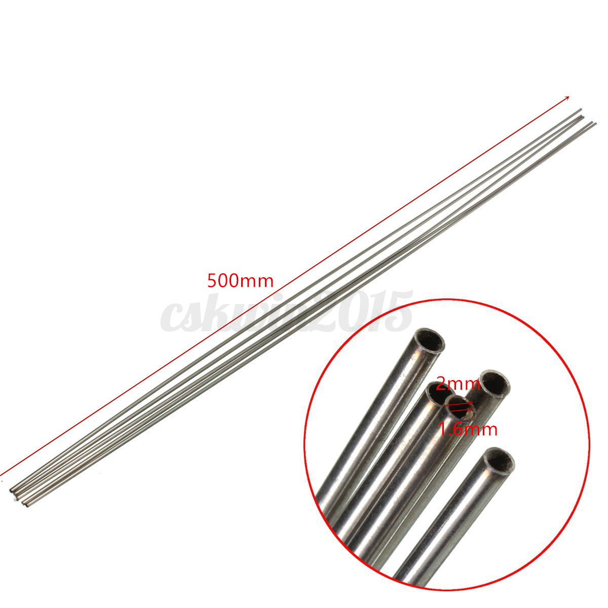 Pcs stainless steel capillary tube rod tool mm