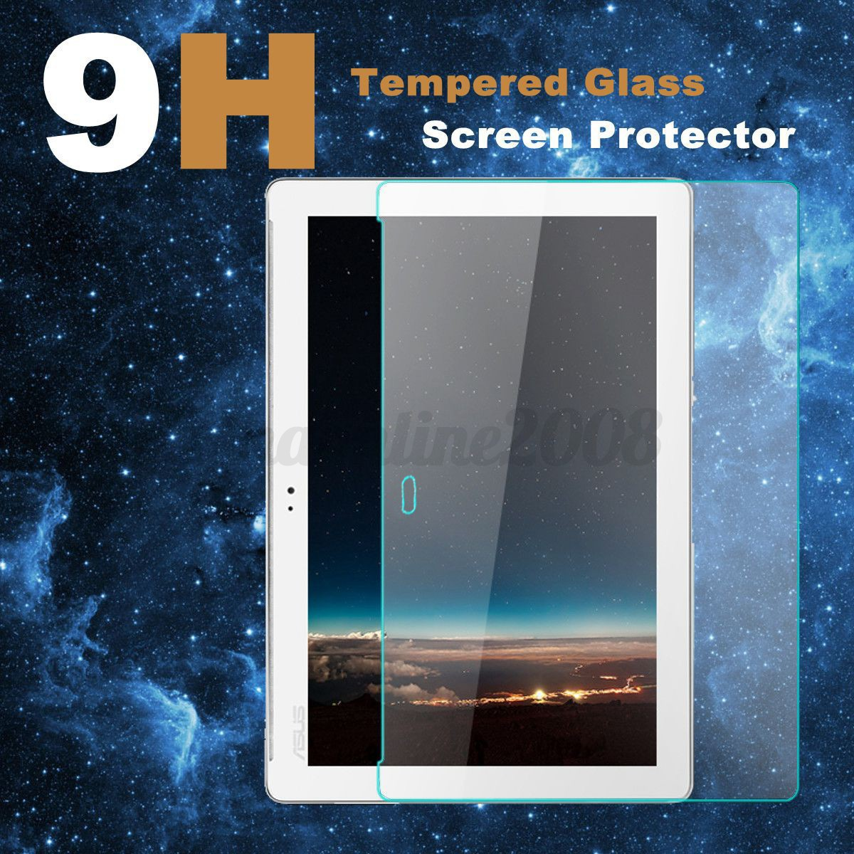 Tempered glass film cran protection verre tremp pr ipad samsung asus tablette - Tablette verre trempe ...