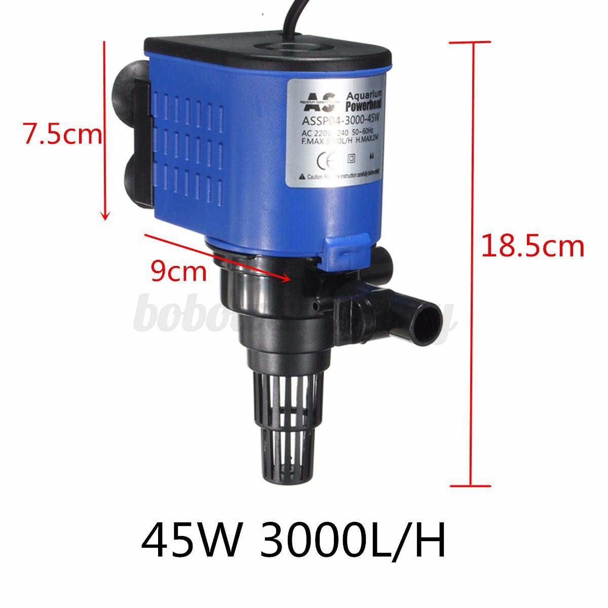 3 in 1 aquarium fish tank powerhead wave maker for Fish tank oxygen pump