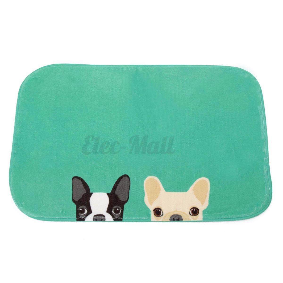 Chihuahua Dog Rug Anti-Slip Plush Door Pad Floor Bathroom