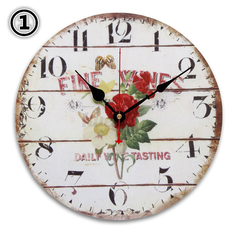 Wanduhr Bürouhr Antik Uhren Wohnzimmer Vintage Design ...