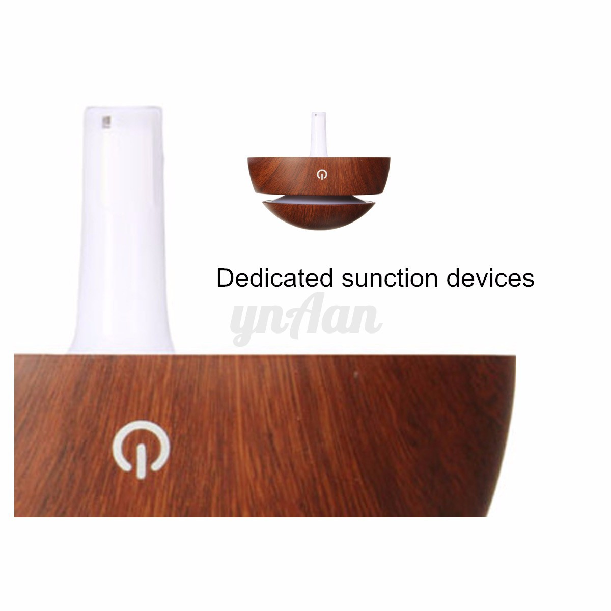 Grain Ultrasonic Aroma Humidifier Oil Diffuser Air Purifier Home #803C27