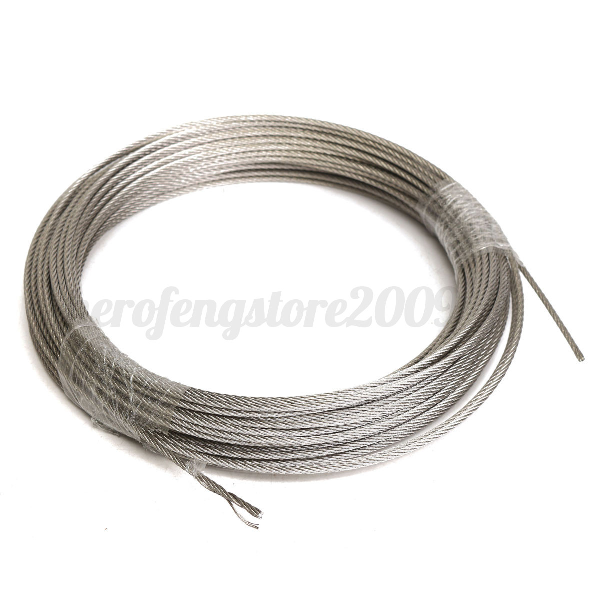 Single Metal Wire : M grade stainless steel metal wire rope cable