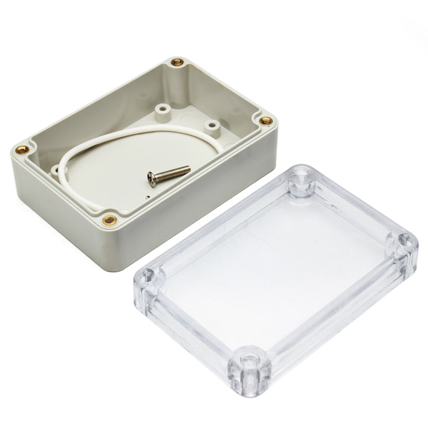 Clear Abs Waterproof Electronic Transparent Project Box