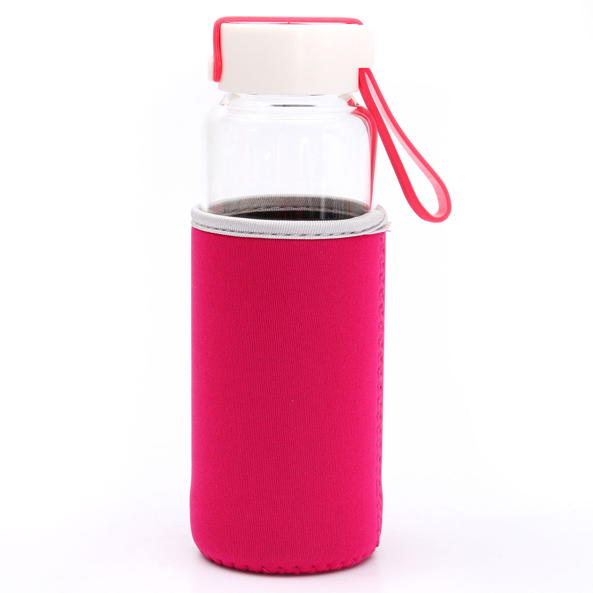 450ml transparent sport gourde bouteille infusion jus fruit eau th filtre sac ebay. Black Bedroom Furniture Sets. Home Design Ideas