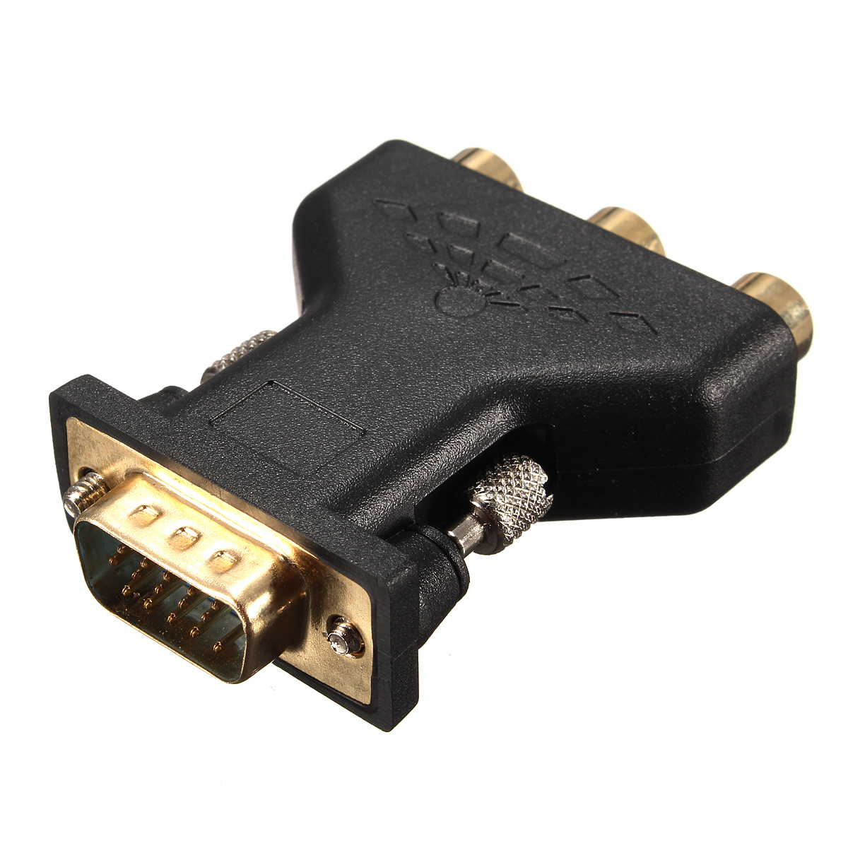 how to connect vga to rca