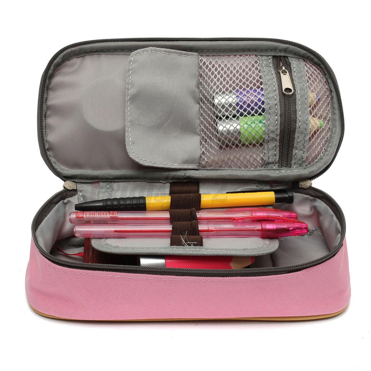Sac Trousse Scolaire Stylo Ecole Crayon Pinceau Maquillage Porte Monnaie Boite Ebay
