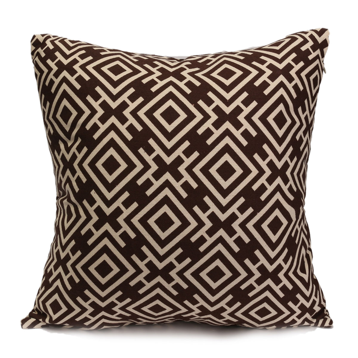 housse coussin chinoiserie g om trique canap taie d 39 oreiller cushion cover ebay. Black Bedroom Furniture Sets. Home Design Ideas