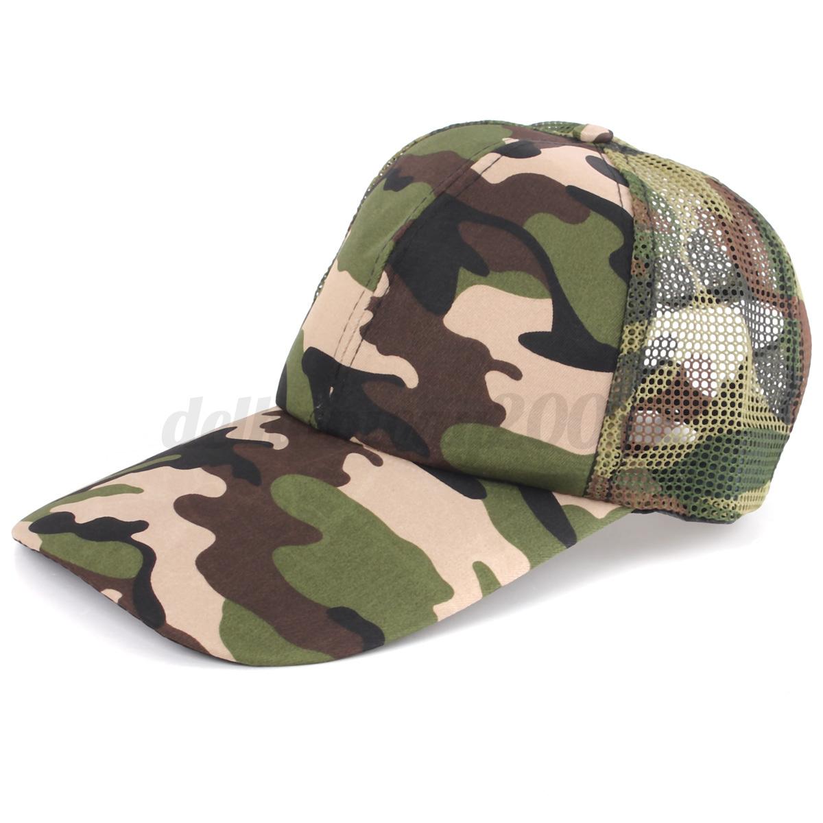 camouflage baseball army sport cap army
