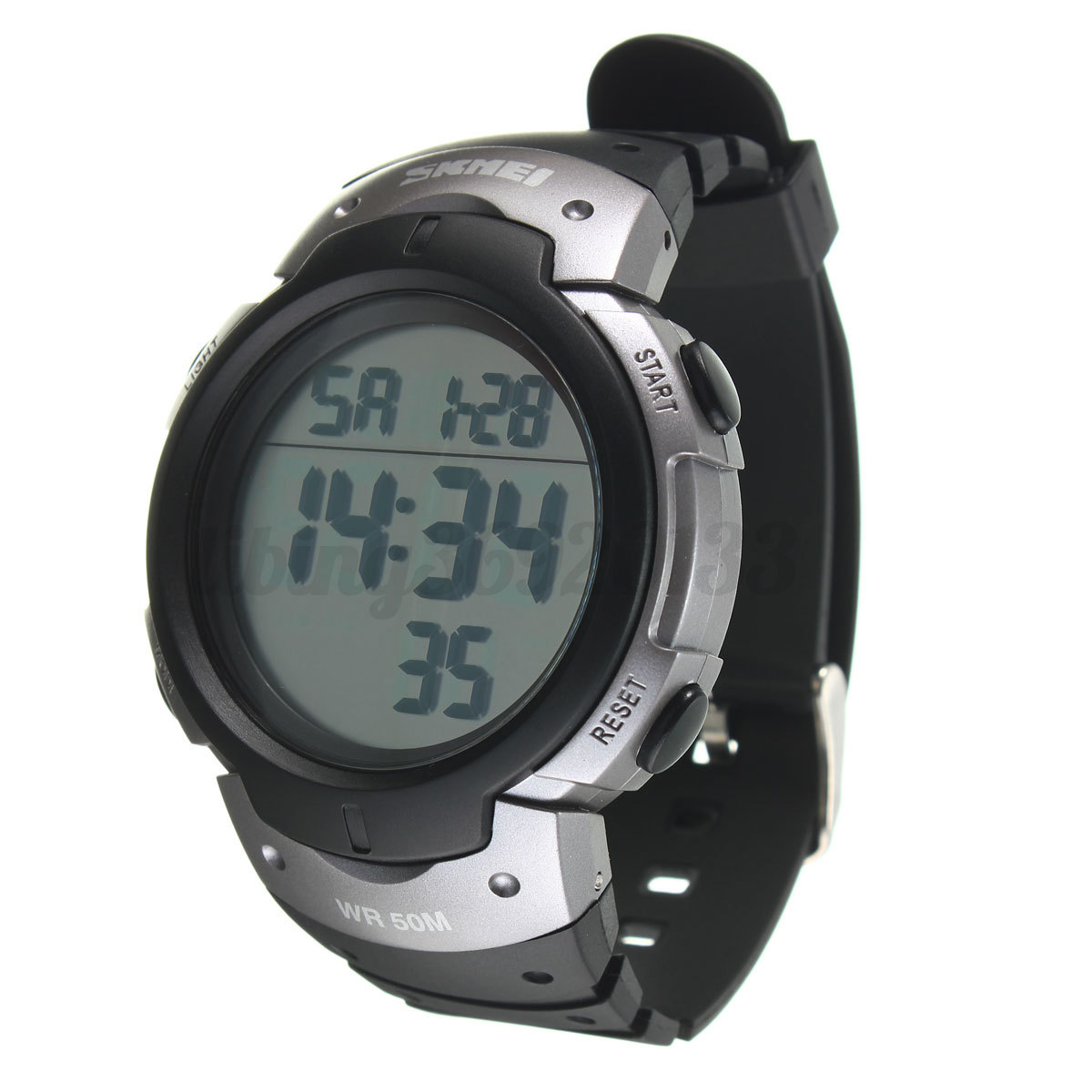 how to set date on digital watch