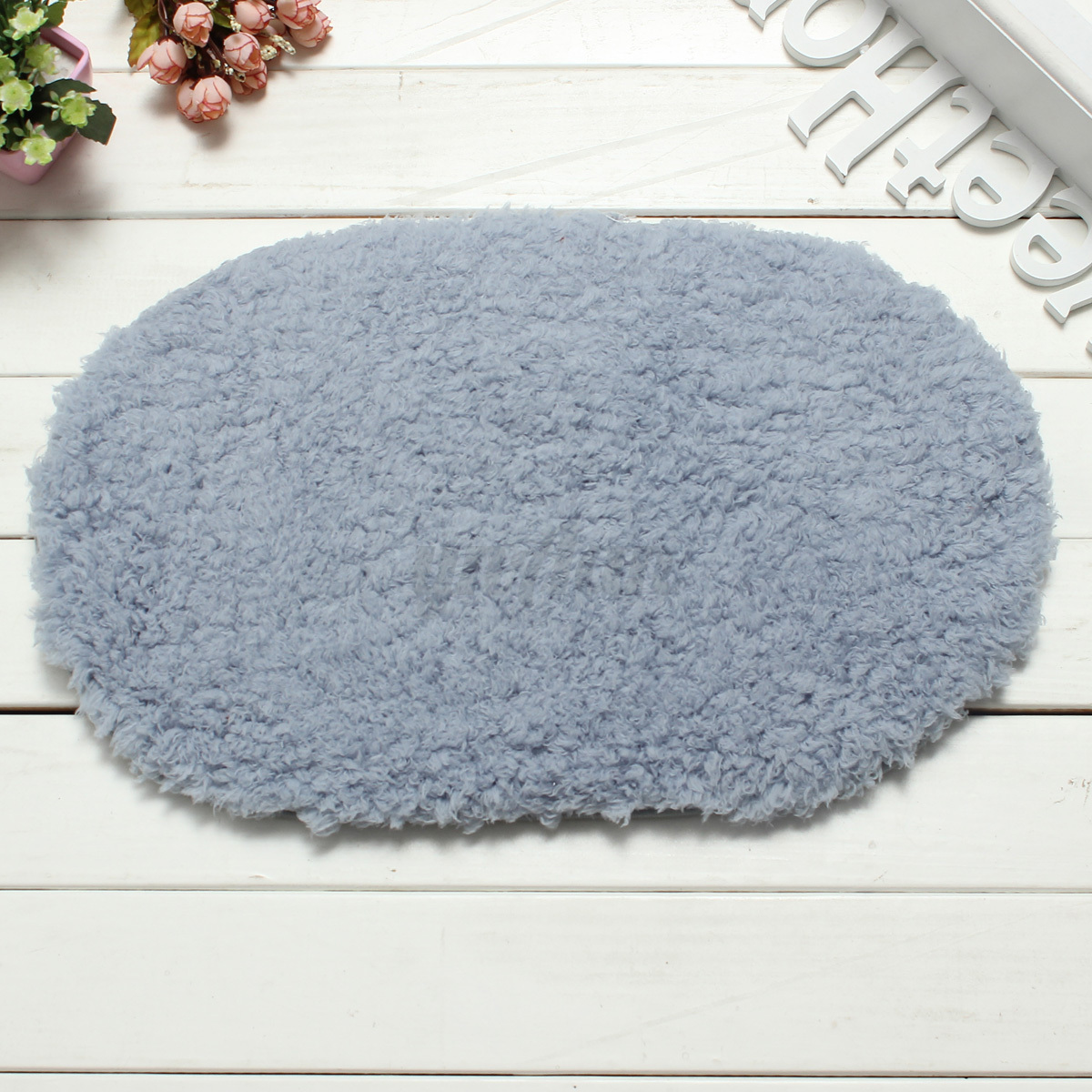 tapis de bain paillasson shaggy entr e sol carpette antid rapant douche salon ebay. Black Bedroom Furniture Sets. Home Design Ideas