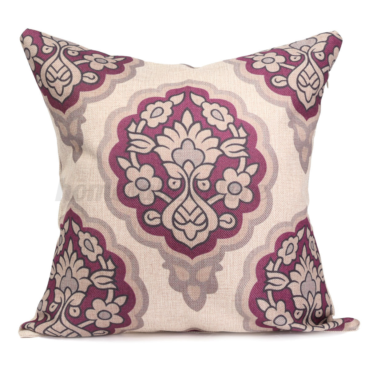 Vintage Throw Pillow Covers : Casual Style Vintage Cushion Cover Throw Pillow Covers for Home Sofa Decoration eBay
