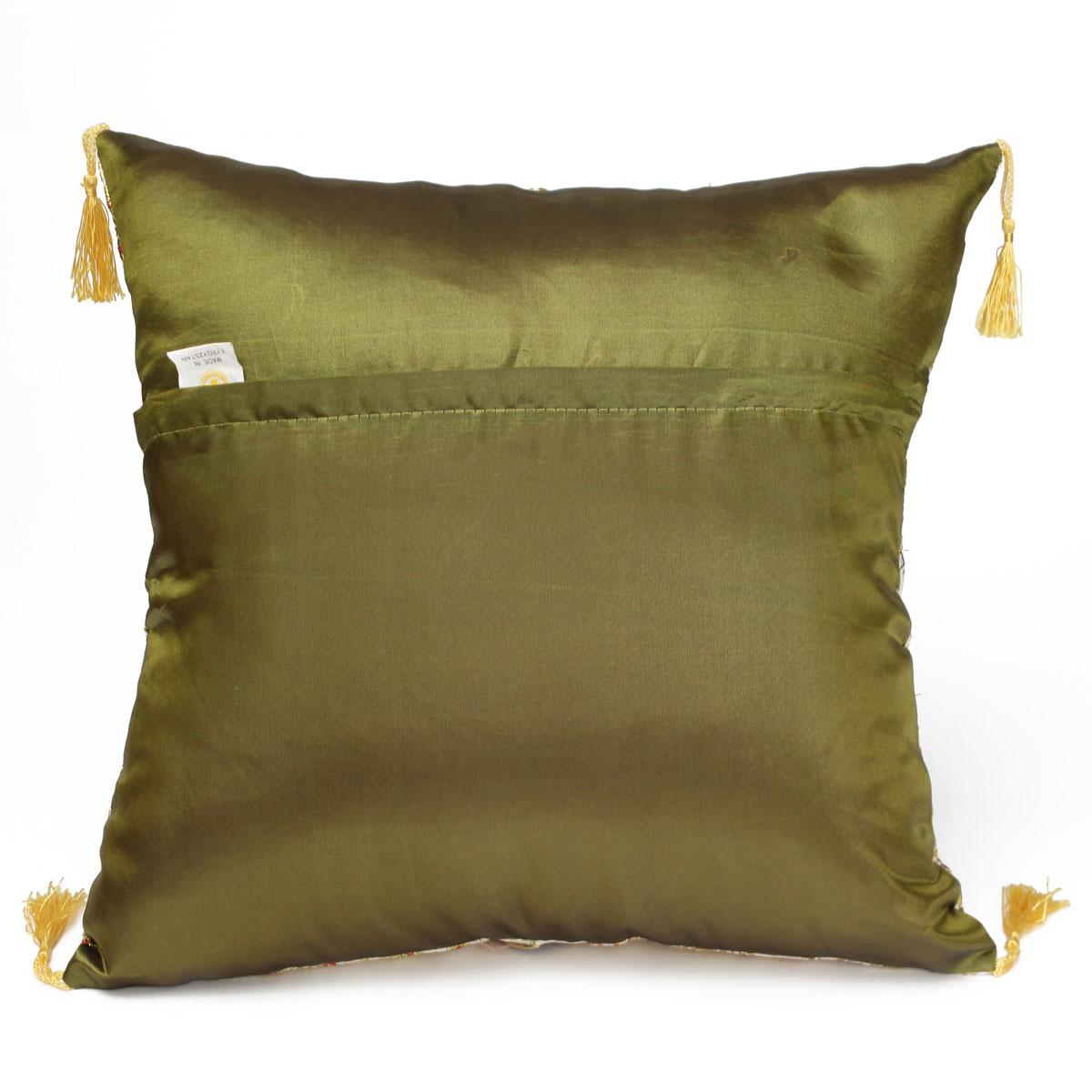Vintage Flower Tassels Cotton Pillow Case Sofa Throw Cushion Cover Home Decor