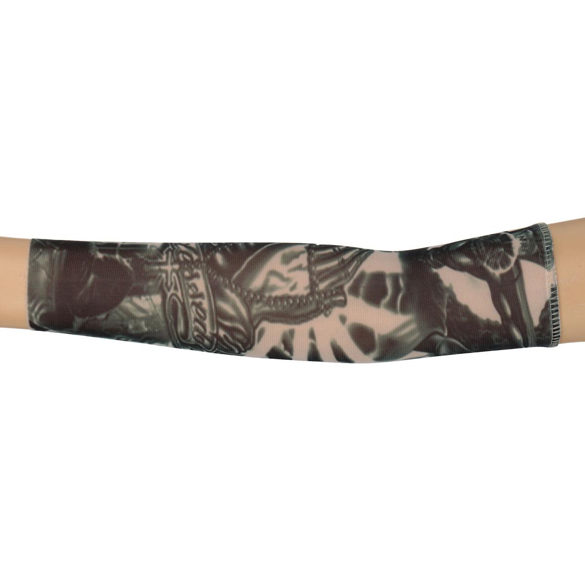 Nylon kids temporary tattoo sleeves arm stockings tatoo for Fake tattoo sleeves toronto