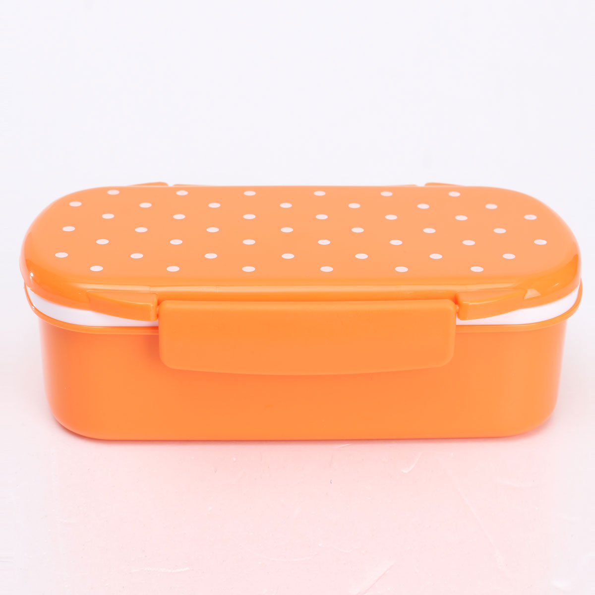 cute plastic lunch box food container storage box portable bento box spoon fork ebay. Black Bedroom Furniture Sets. Home Design Ideas