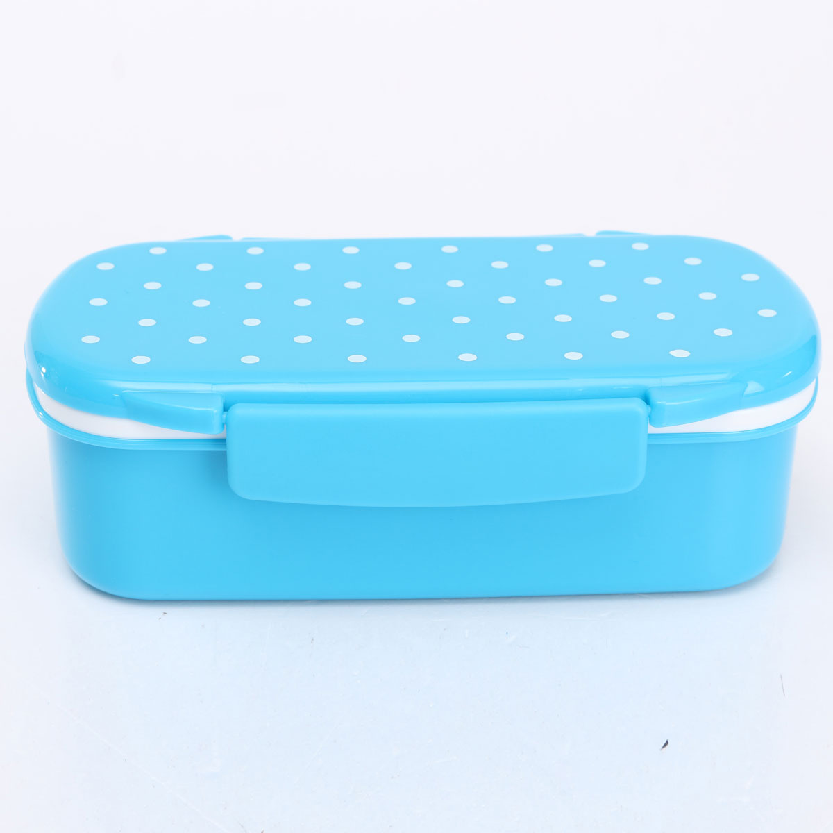 cute plastic lunch box food container storage box portable bento box spoon fork ebay. Black Bedroom Furniture Sets. Home Design Ideas