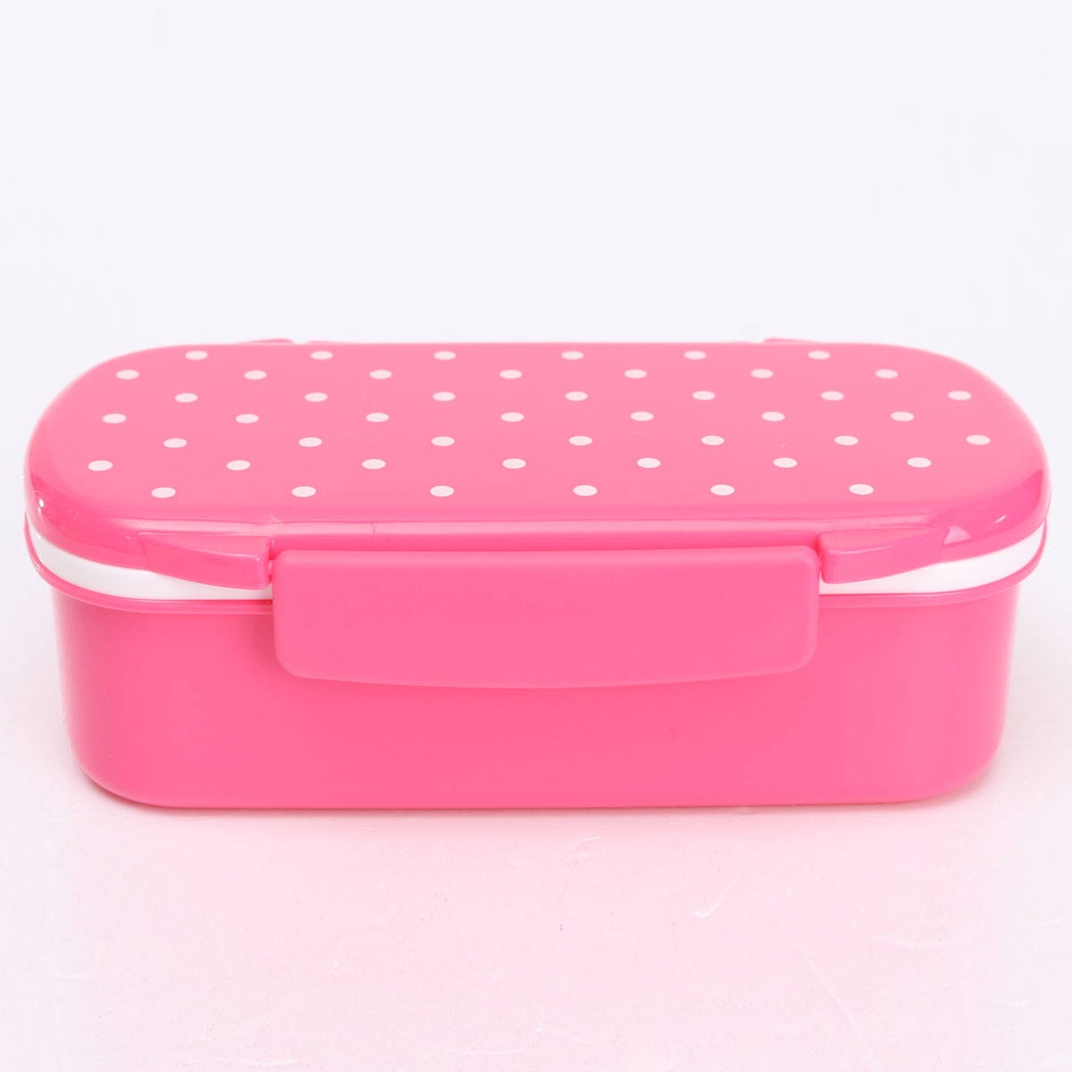 Cute Plastic Lunch Box Food Container Storage Box Portable Bento Box Spoon Fork