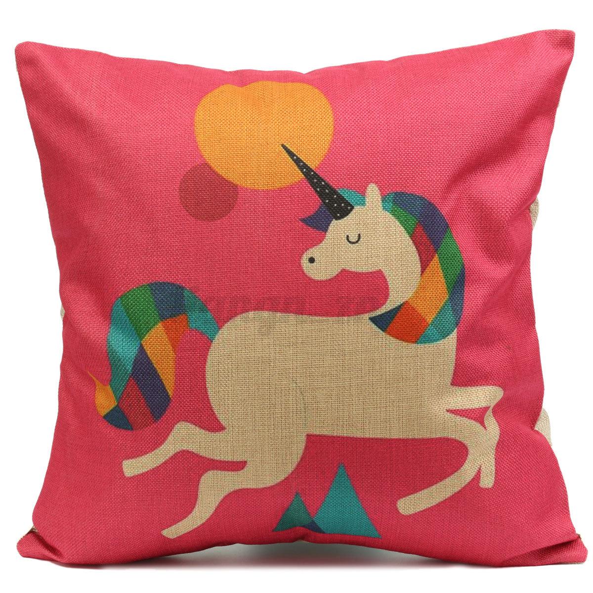 animal housse de coussin taie d 39 oreiller canap d coration maison cushion cover ebay. Black Bedroom Furniture Sets. Home Design Ideas