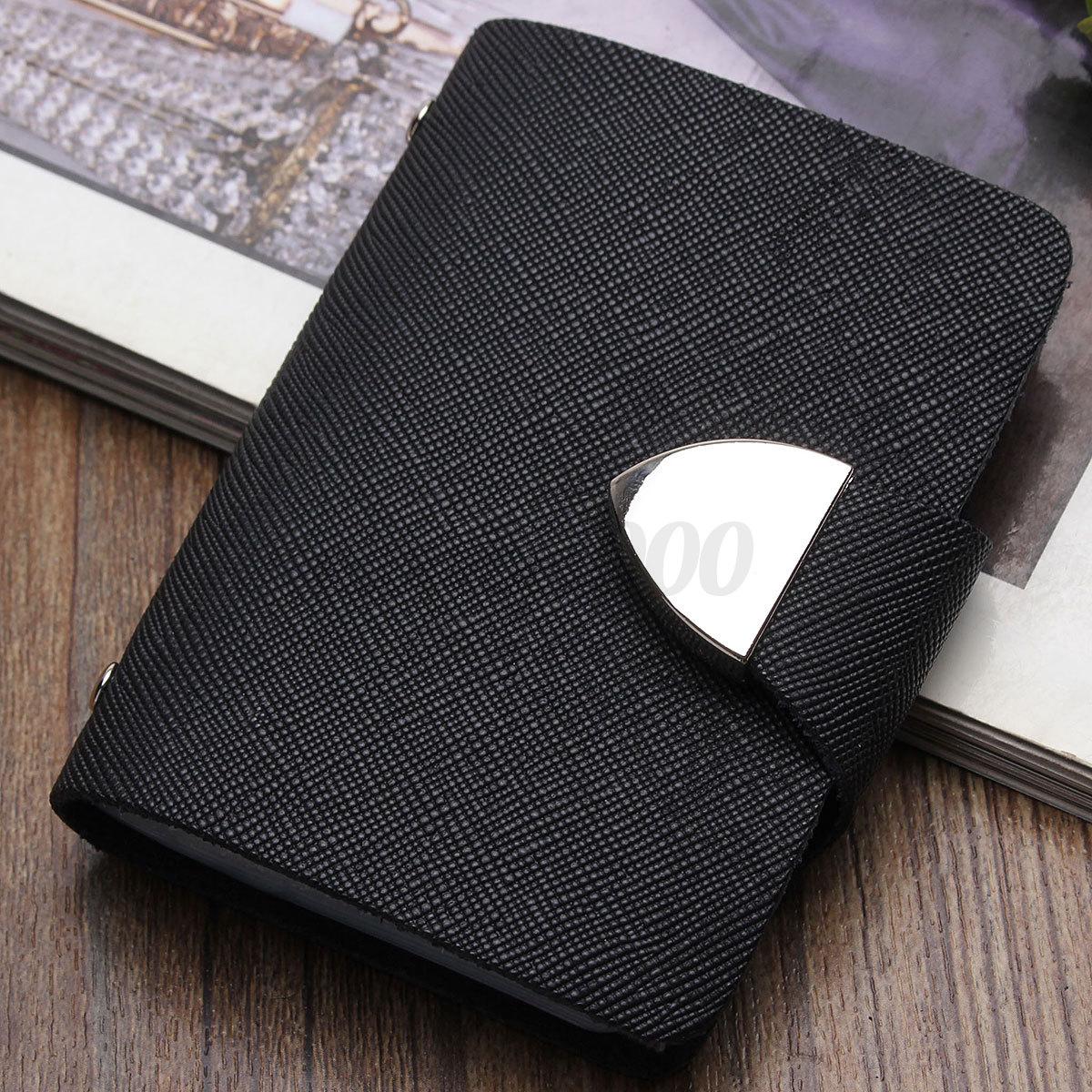 Cowhide Women Pouch ID Credit Card Holder Wallet Cash Organizer Case Box Pocket