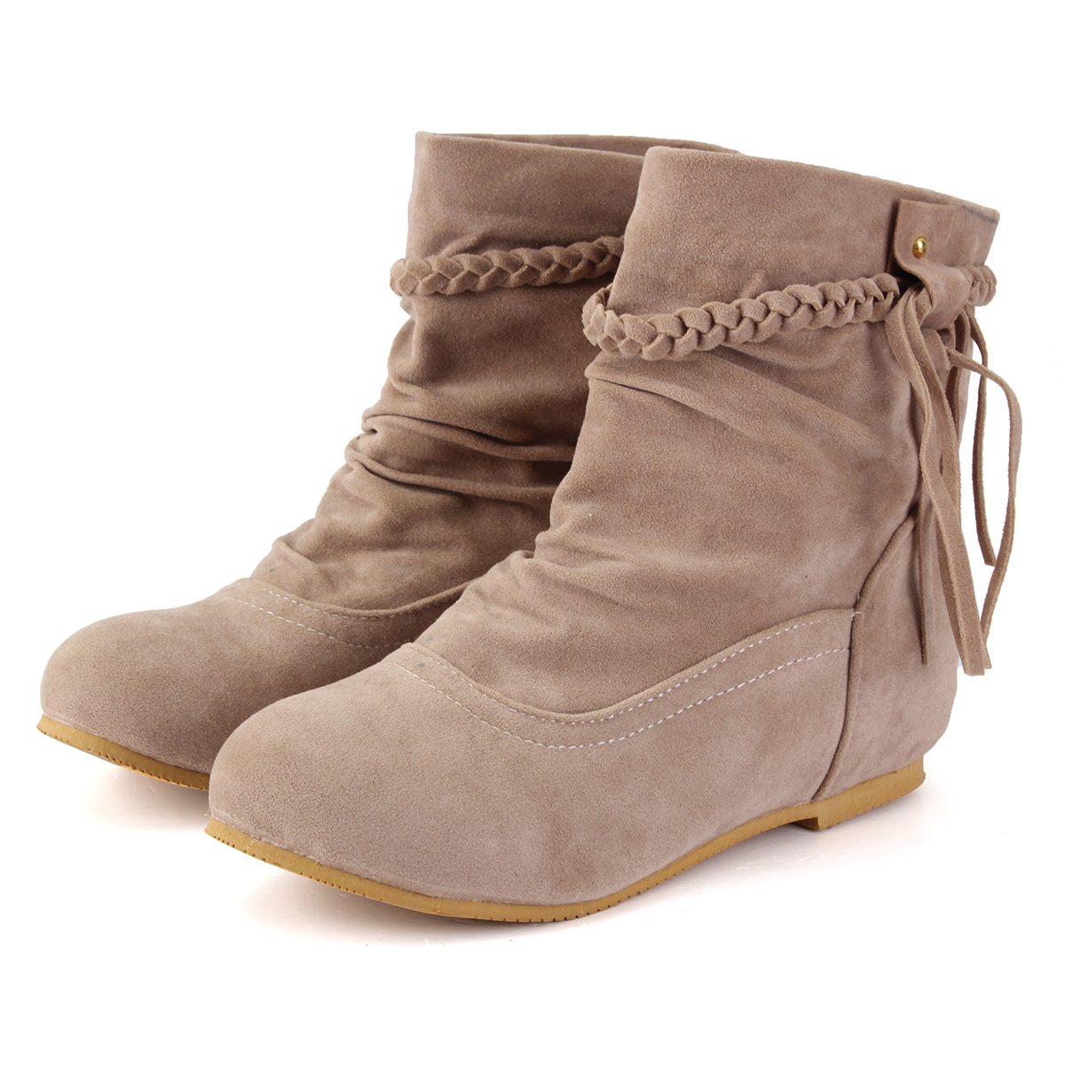 2017 new fashion tassels ankle boots fringes