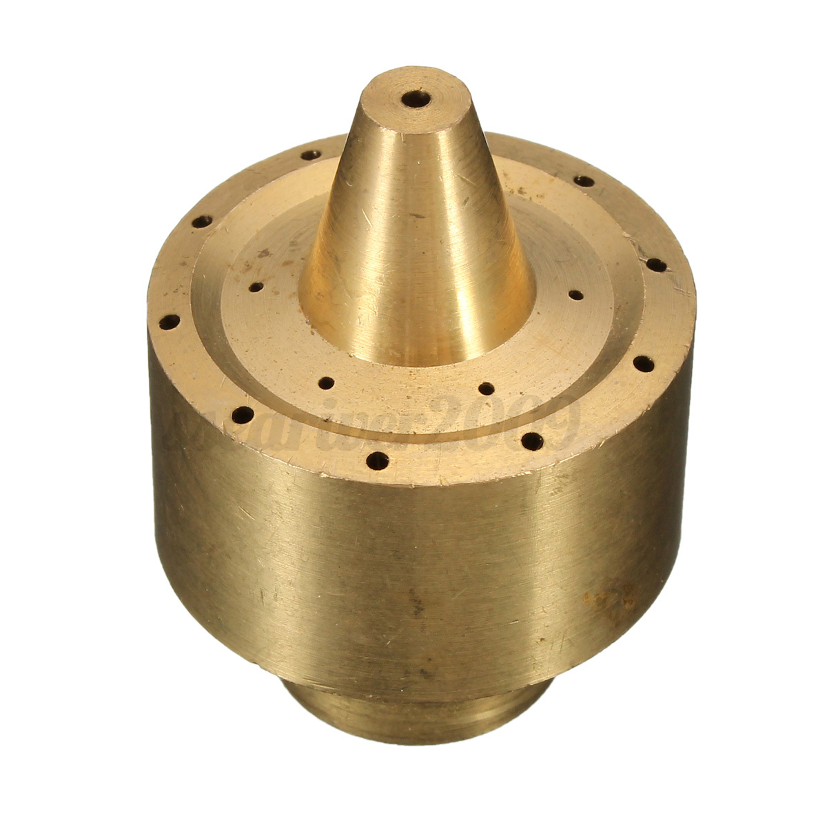 Exterior Sprinkler Heads : Brass column fountain nozzle spray sprinkler head quot