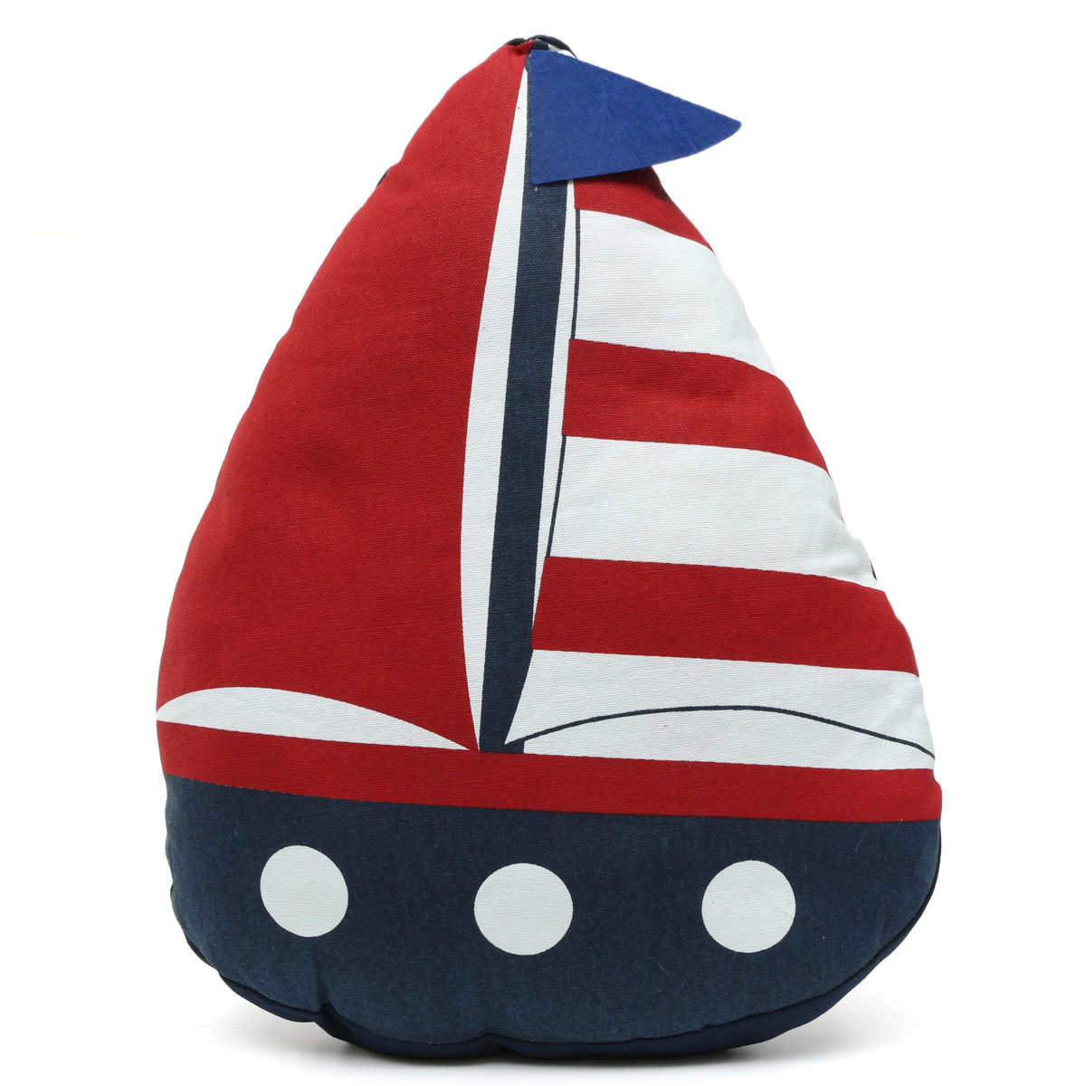 Nautical Throw Pillow Cases : Mediterranean Style Sail Boat Shape Nautical Throw Pillow Case Cushion Cover eBay