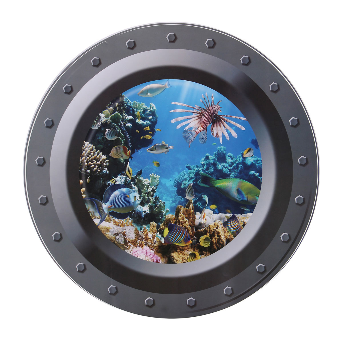 Nautical Tropical Imports 16 Solid Brass Heavy Porthole