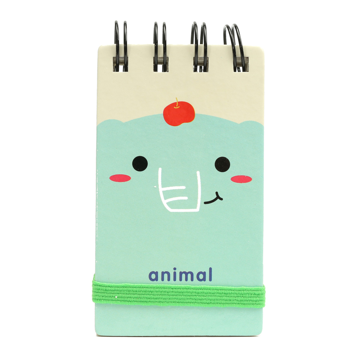 Children Note Book Cover : Cute animal cover with rubber band diary journal book