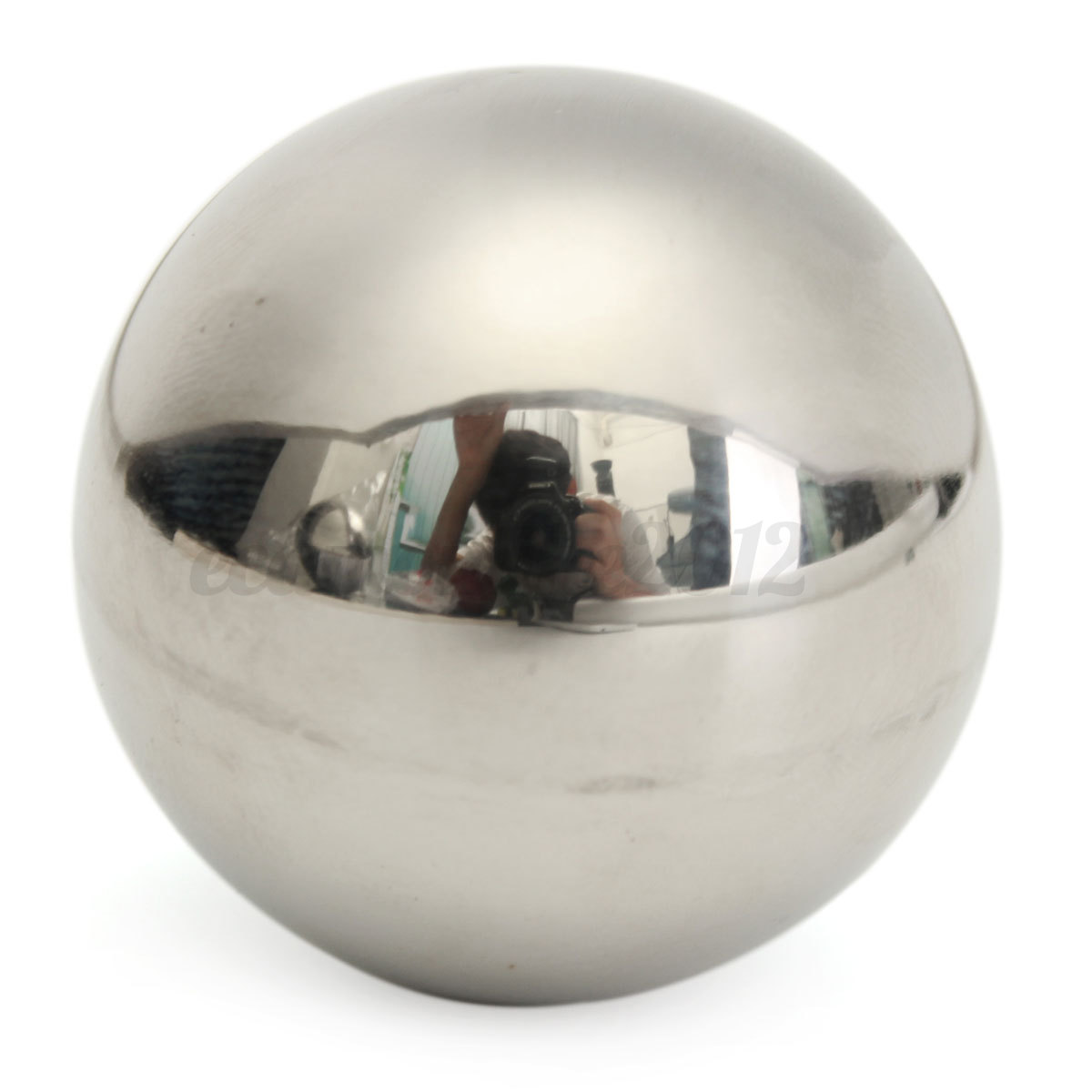 5 size sph re acier inoxydable poli miroir exterieur. Black Bedroom Furniture Sets. Home Design Ideas
