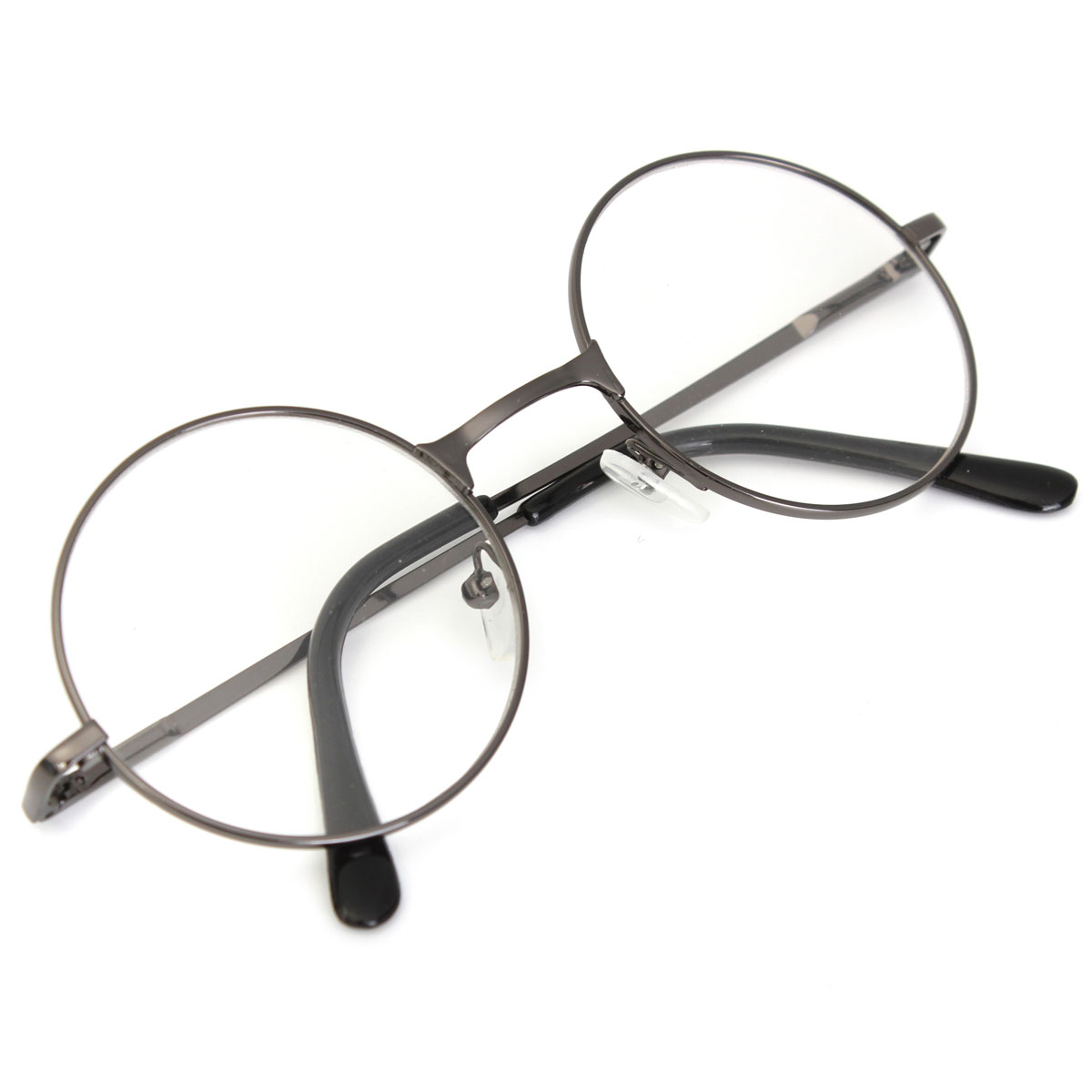 3 Colors Retro Round Presbyopic Reading Glasses Metal