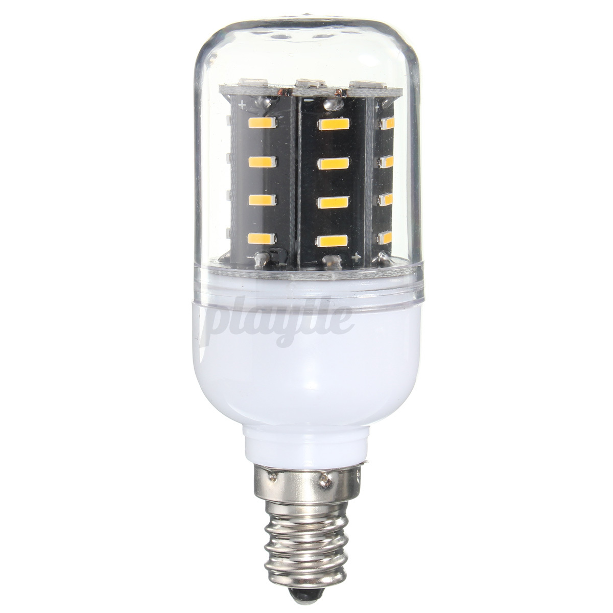 E14 E27 E12 B22 G9 GU10 LED Corn Light 4014 SMD 12/18/25 ...