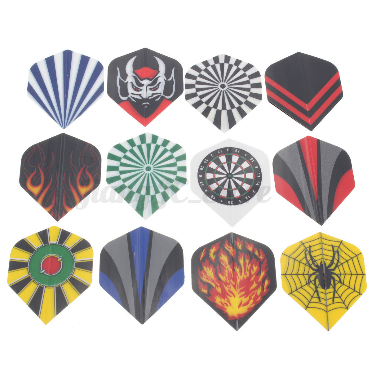 New Colorful Styles Dart Flights Shaft Darts Tips Case Replacement Accessory