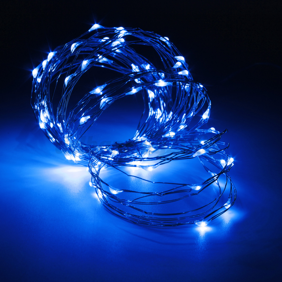 10M 100 LED Solar Powered Starry String Fairy Light Copper Wire Ambiance Light eBay